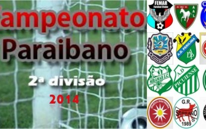 FPF divulga tabela da Segunda Divisão do Campeonato Paraibano
