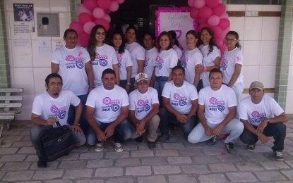 São Sebastião do Umbuzeiro realiza o dia D outubro Rosa de Prevenção ao  Câncer de Mama
