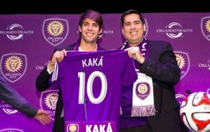 Estreia de Kaká pelo Orlando será em amistoso contra o Flamengo