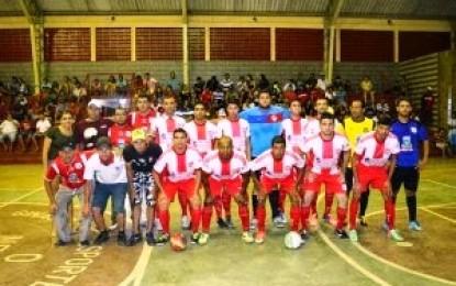 Seleção de Sumé disputa novamente final da Copa Cariri de Futsal 2015