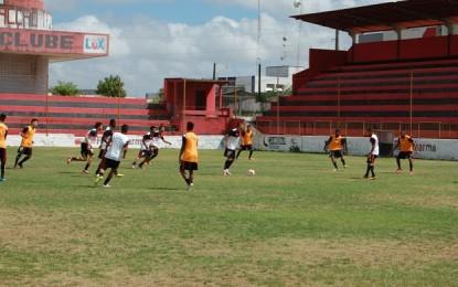 Campinense intensifica treinos físicos em semana com dois amistosos