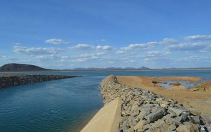 Primeira barragem da transposição do São Francisco já está cheia