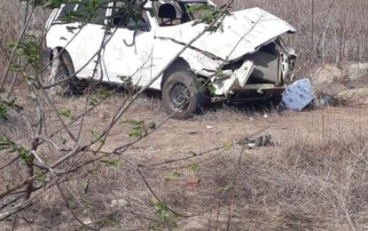 Atualizando: morre a segunda criança no acidente de carro em Alcantil