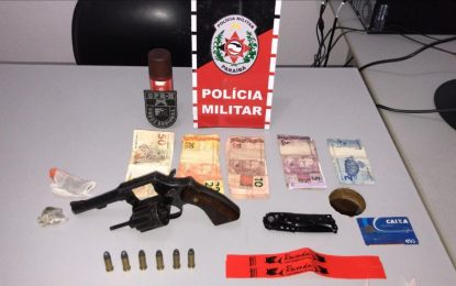 Polícia encerra festa clandestina e apreende arma de fogo no Sertão