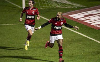 Flamengo goleia e volta à ponta do Campeonato Carioca