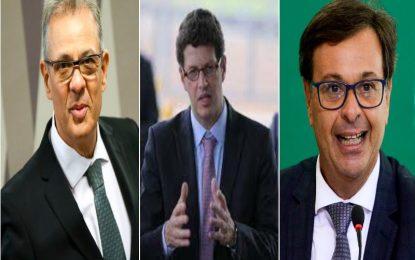 Mais três ministros estão ´balançando´ no Governo Bolsonaro