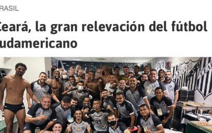 """Jornal espanhol chama Ceará de """"grande revelação do futebol sul-americano"""""""