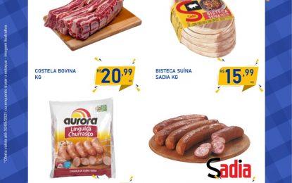 Confira a Fogueira de  preços baixos do  Magno Supermercado