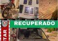 Polícia Militar recupera carro, moto e celulares roubados e prende criminoso no Cariri