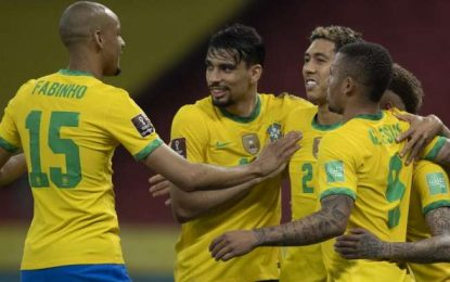 Brasil lidera rankings de ataque, defesa e dribles nas Eliminatórias