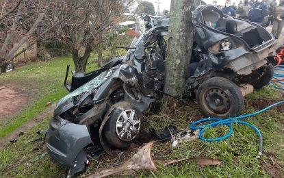 Jovem morre em acidente após descobrir sobre falecimento do pai