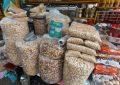 Preço das castanhas varia 25% na principal feira de Campina Grande