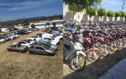 PRF realiza leilão virtual de veículos recolhidos no Sertão da PB